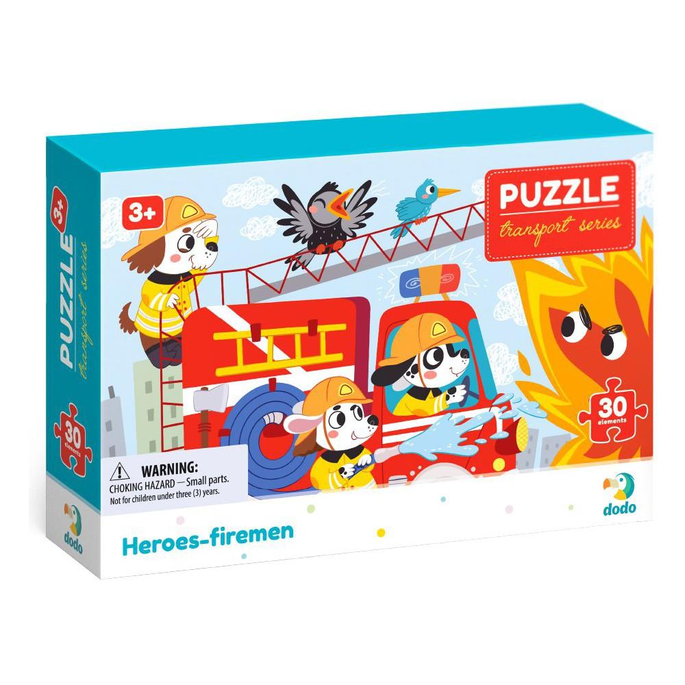 Dodo - Puzzle Profesje Bohaterscy Strażacy 30 el. 300372