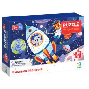 Dodo - Puzzle Profesje Wyprawa w Kosmos 30 el. 300374