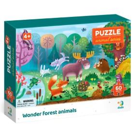 Dodo - Puzzle Biomy 60 el. Zwierzęta leśne 300375