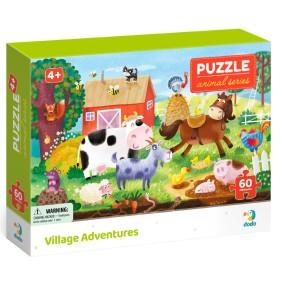 Dodo - Puzzle Biomy 60 el. Wiejska Przygoda 300377