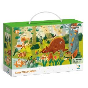 Dodo - Puzzle obserwacyjne Bajkowy las 80 el. 300366