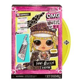 L.O.L. SURPRISE - Lalka O.M.G. MUSIC REMIX ROCK Fame Queen z Keytarem OMG LOL 577607