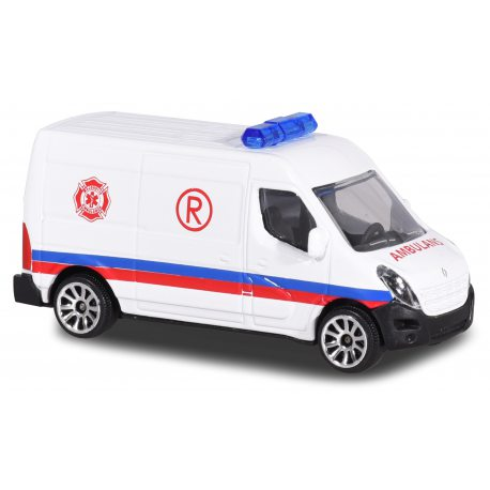 Majorette - Pojazd SOS Renault Master Ambulans 2057181