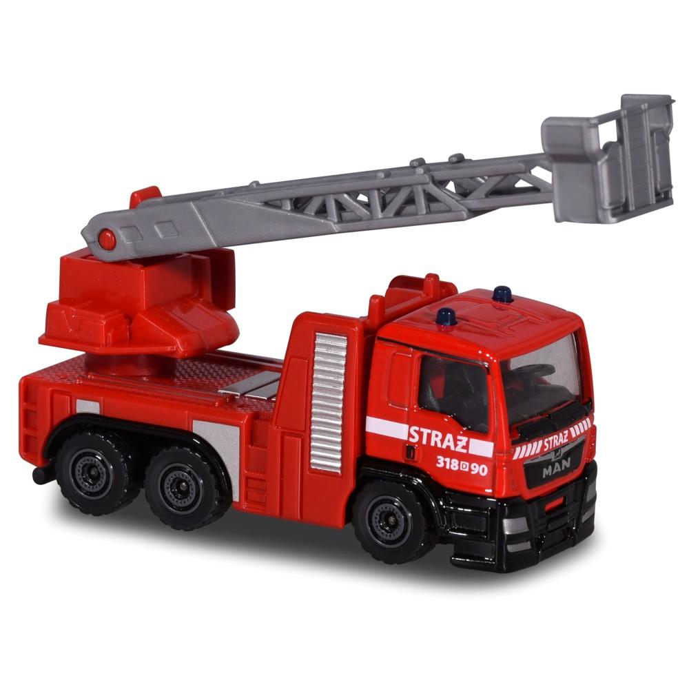 Majorette - Pojazd SOS MAN TGS Straż Pożarna 2057181