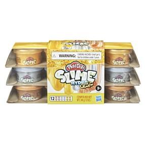 Play-Doh Slime - HydroGlitz 12-pak Metaliczne tuby E9434