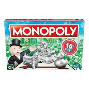 Hasbro - Monopoly Standard Classic z nowymi kartami C1009