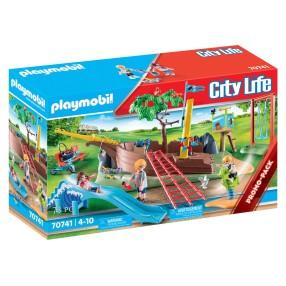 Playmobil - Plac zabaw z wrakiem statku 70741