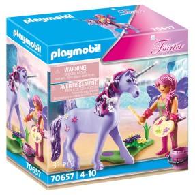 Playmobil - Wróżka z ozdobami i jednorożcem 70657