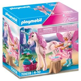 Playmobil - Wróżka opiekująca się jednorożcem 70658