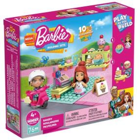 Mega Construx - Zestaw klocków Barbie Cukiernia + 2 figurki GWR32