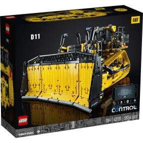 LEGO Technic - Sterowany przez aplikację buldożer CAT D11 42131