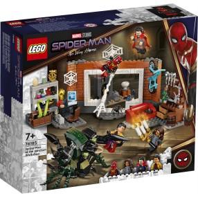 LEGO Marvel Spiderman - Spider-Man w warsztacie w Sanctum 76185