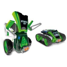 Xtrem Bots - Interaktywny Robot Mazzy Zbuduj i Zaprogramuj Zestaw 2w1 380851