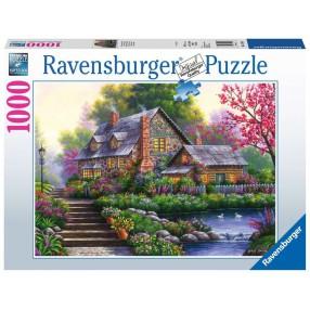 Ravensburger - Puzzle Romantyczny domek na wsi 1000 elem. 151844