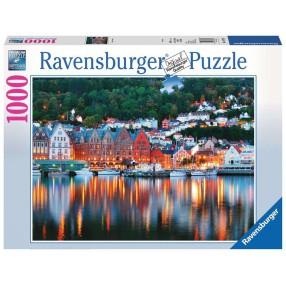 Ravensburger - Puzzle Bergen Norwegia 1000 elem. 197156