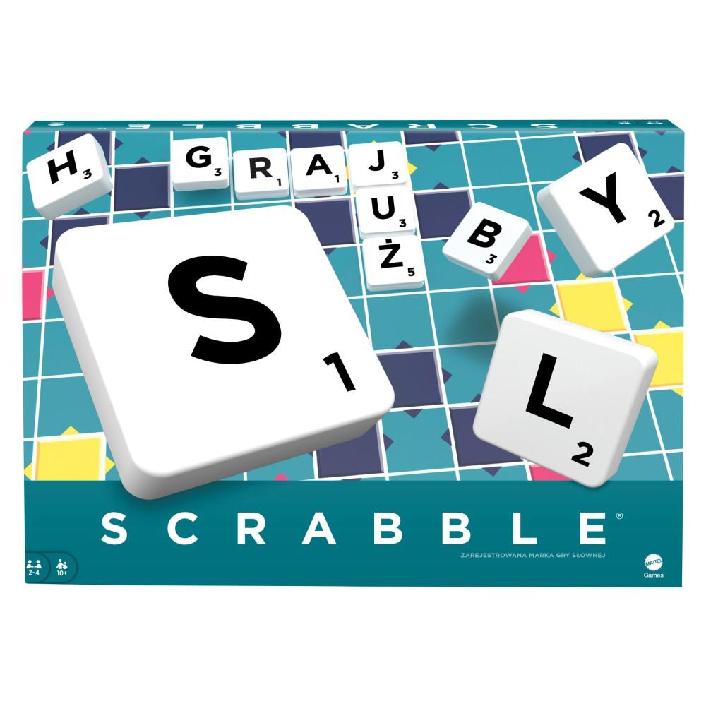 Mattel - Gra Scrabble Original Y9616