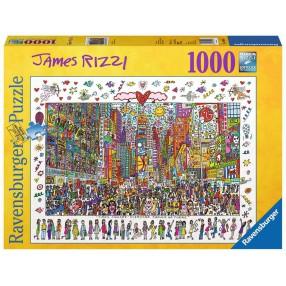 Ravensburger - Puzzle James Rizzi Time Square 1000 elem. 190690