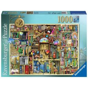 Ravensburger - Puzzle Magiczny regał z książkami Nr 2 1000 elem. 194186
