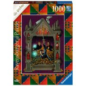 Ravensburger - Puzzle Harry Potter i Insygnia Śmierci cz.2 1000 elem. 167494