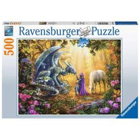 Ravensburger - Puzzle Smoki 500 elem. 165803