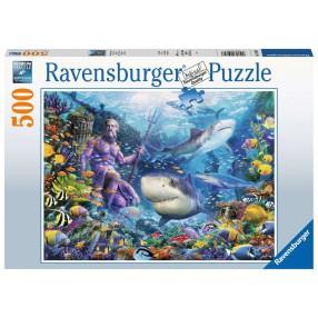Ravensburger - Puzzle Władca mórz 500 elem. 150397