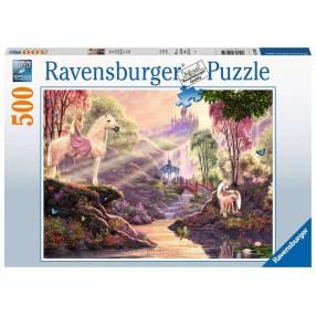 Ravensburger - Puzzle Bajkowa rzeka 500 elem. 150359