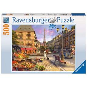 Ravensburger - Puzzle Spacer po Paryżu 500 elem. 146833