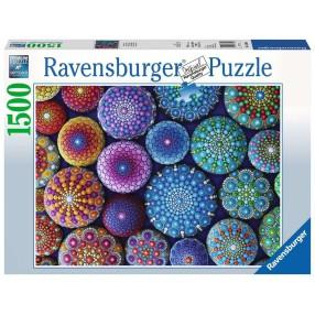Ravensburger - Puzzle Kolorowe kamienie 1500 elem. 163656
