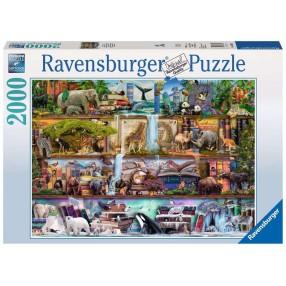 Ravensburger - Puzzle Świat zwierząt 2000 elem. 166527
