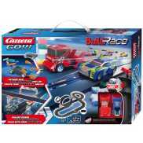 Carrera GO!!! - Build 'n Race Racing Set 4,9 m 62530