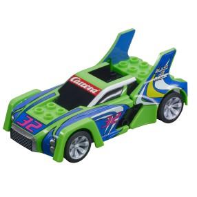 Carrera GO!!! - Build 'n Race - Race Car Green 64192