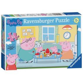 Ravensburger - Puzzle Świnka Peppa Deser 35 elem. 086283