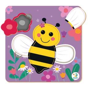 Dodo - Puzzle Sorter Mini Pszczoła 5 el. 300358