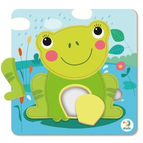Dodo - Puzzle Sorter Mini Żaba 5 el. 300360