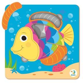 Dodo - Puzzle Sorter Mini Ryba 5 el. 300362