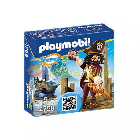 Playmobil - Super 4 Rekinobrody 4798