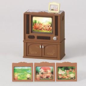 Sylvanian Families - Luksusowy telewizor kolorowy 2924