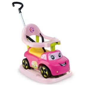 Smoby - Jeździk Auto Super Samochód z dźwiękiem Różowy 720608