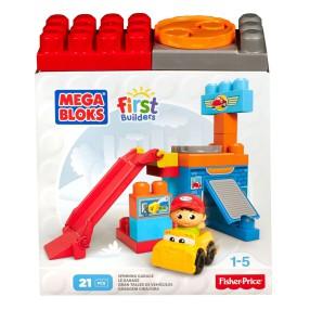 Mega Bloks First Builders - Małe zestawy Warsztacik samochodowy DKX87
