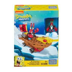 Mega Bloks SpongeBob - Zastaw Rajdowcy Wyścigówka Pana Kraba CNP25