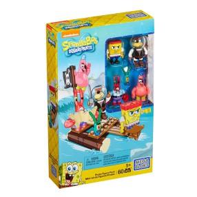 Mega Bloks SpongeBob - Zestaw figurek Piraci CNH56