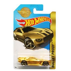 Hot Wheels - Kuloodporny Bullet Proof Złoty DPN12