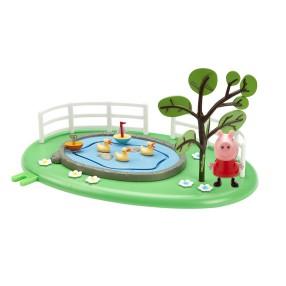 TM Toys Świnka Peppa - Plac zabaw Peppy z figurką Staw 05329 C