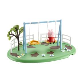 TM Toys Świnka Peppa - Plac zabaw Peppy z figurką Huśtawki wahadłowe 05329 D
