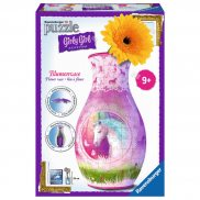 Ravensburger - Puzzle 3D Girly Girl Wazon Jednorożec 216 elem. 120512