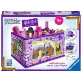 Ravensburger - Puzzle 3D Girly Girl Pudełko Konie 216 elem. 120727