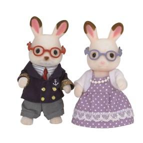 Sylvanian Families - Dziadkowie królików z czekoladowymi uszkami 5190