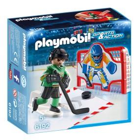 Playmobil - Hokejowa bramka treningowa 6192