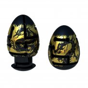 Smart Egg - Łamigłówka Jajko Puzzle Labirynt BLACK DRAGON 30890 C