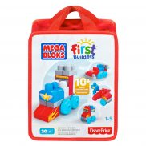 Mega Bloks First Builders - Torba z klockami Pojazdy CNH09
